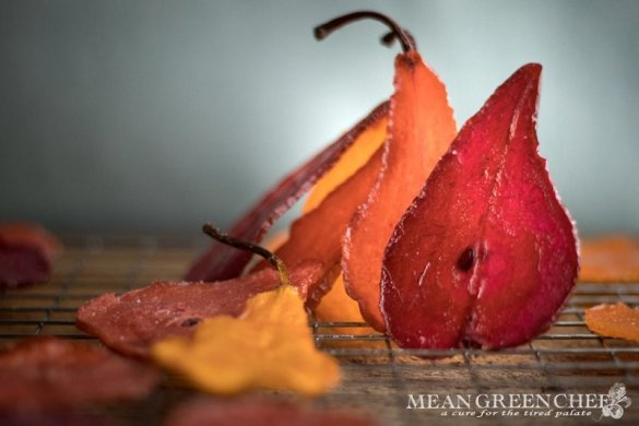 Colored Glass Pears | Mean Green Chef