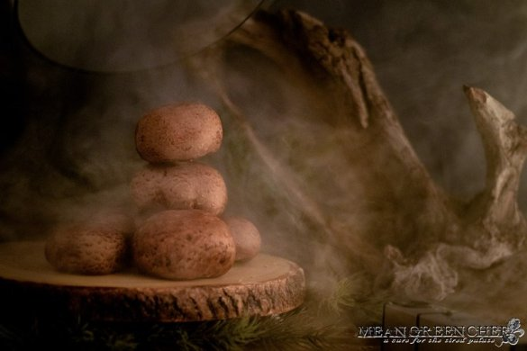 Smoked Portobello Mushrooms Mean Green Chef