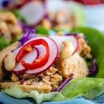 Thai Chicken Lettuce Wraps | Mean Green Chef