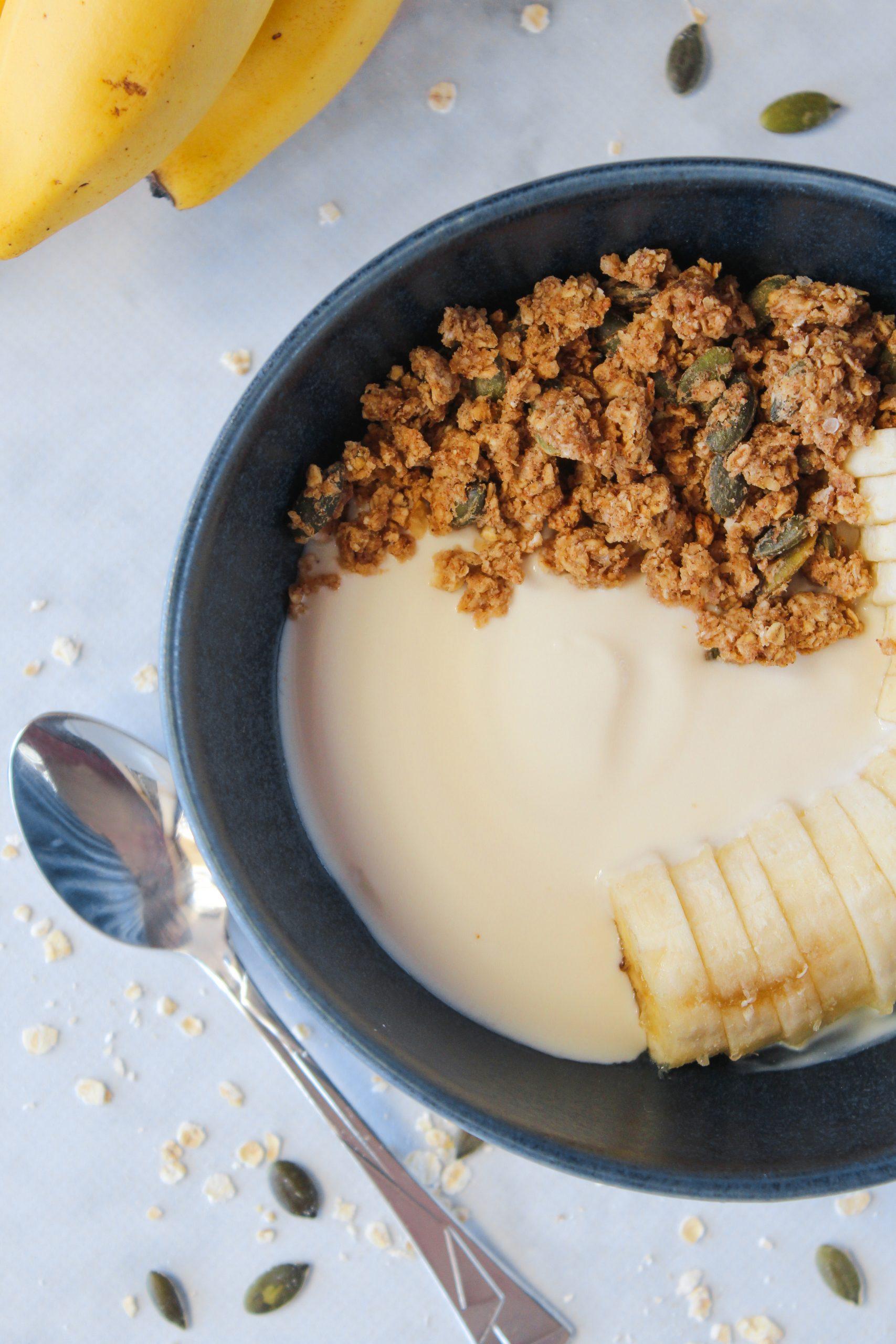 Granola de banana e manteiga de amendoim 2