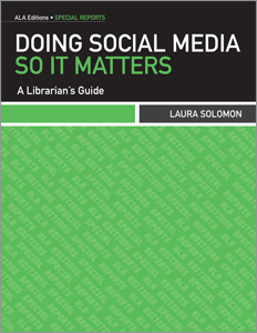 Cover for Doing Social Media So It Matters