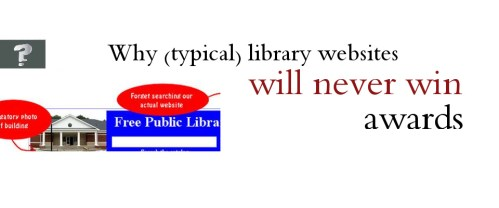 Why library websites don't win awards