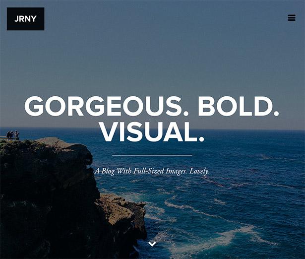 JRNY: A Gorgeous & Responsive WordPress Blog Theme - 8