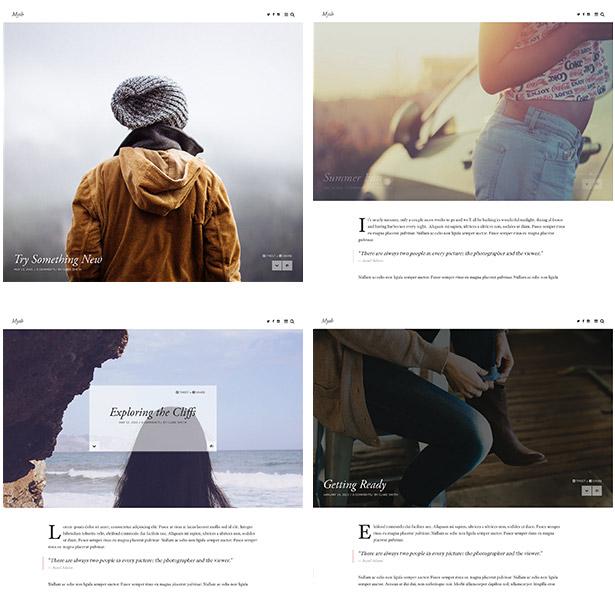 Myth - An Elegant Storytelling WordPress Blog Theme - 3