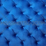 Blue Capitone Tufted Fabric Upholstery Texture 125384 Meashots