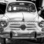 A Black And White Image Of A Vintage Fiat 41365 Meashots