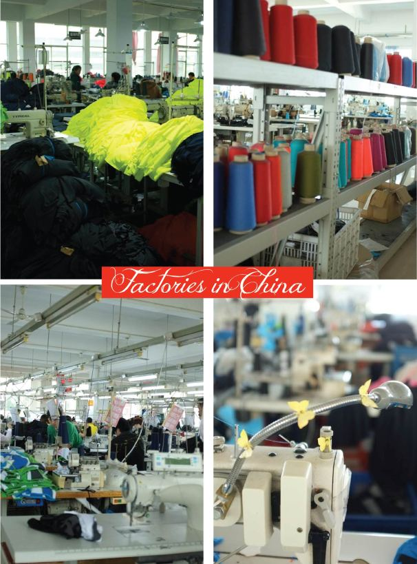 china factories layout
