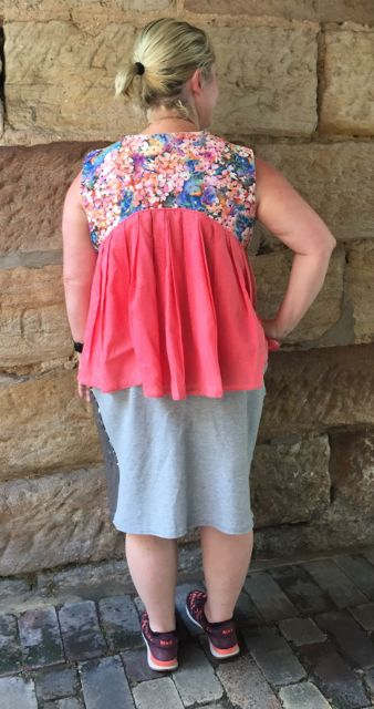 silver skirt back