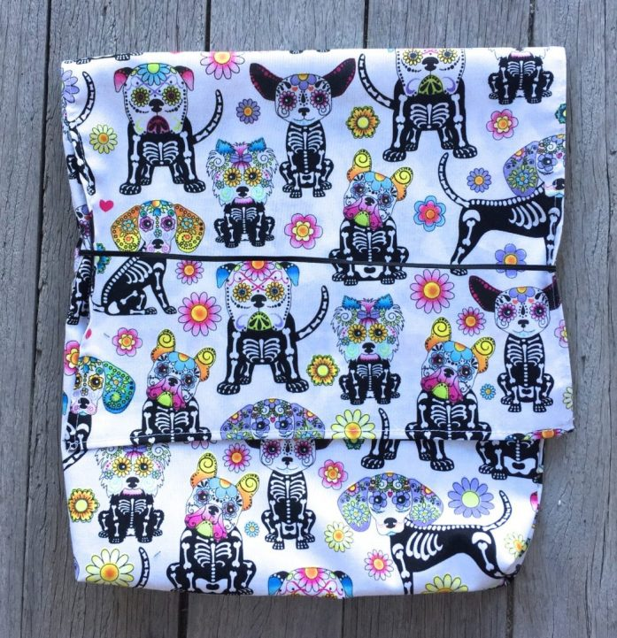 day of the dead cycling bags - 3