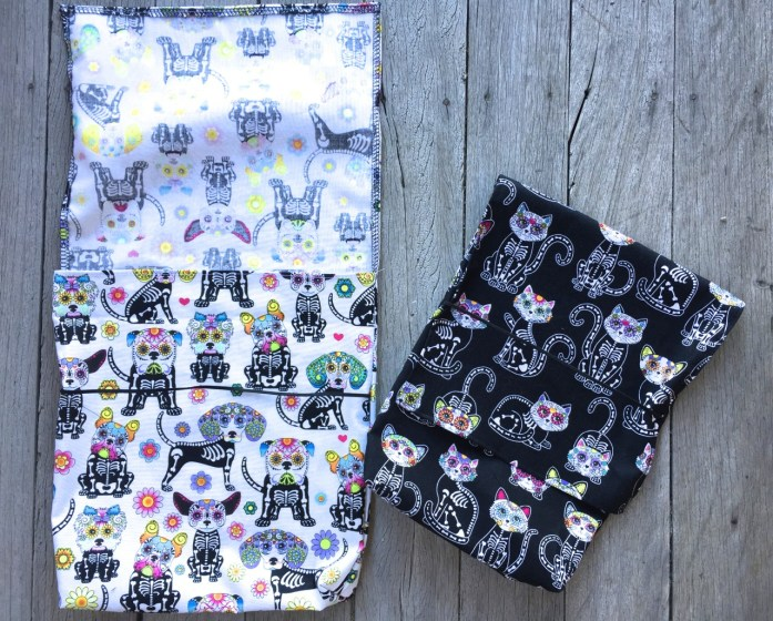 day of the dead cycling bags - 5
