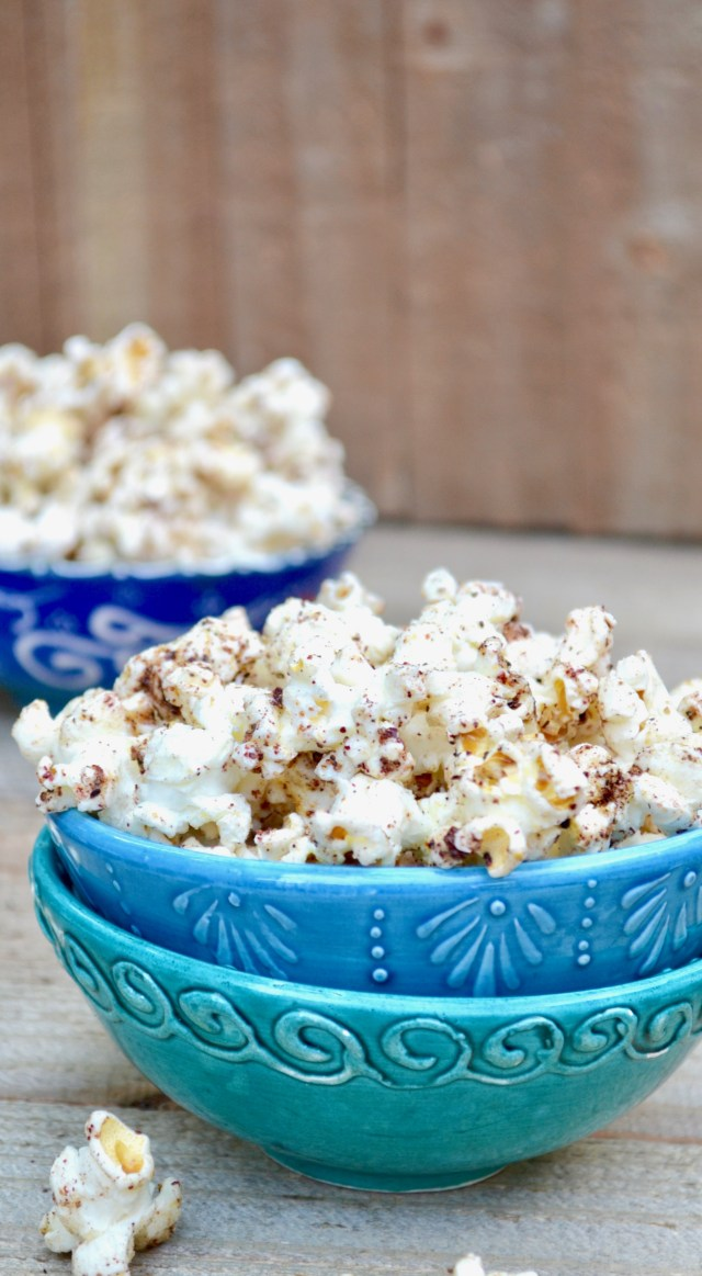 Lemon Spiced Middle Eastern Style Popcorn_