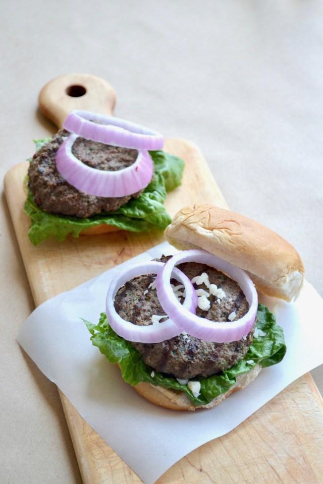 Mediterranean Kafta Burgers