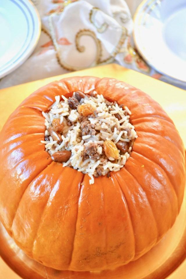 Basmati Stuffed Pumpkin