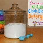 Homemade All-natural Cloth Diaper Detergent