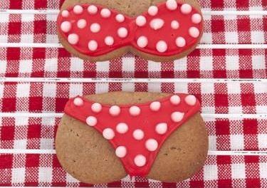 Swimwear Cookies – Iced Sugar Cookies