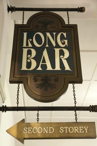 Singapore Sling at The Long Bar