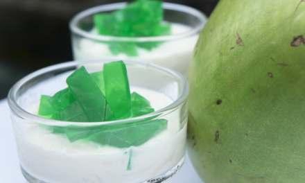 Buko Pandan Bliss – Coconut Gelatine Dessert