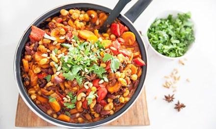 Vegan Moroccan Spiced Beans