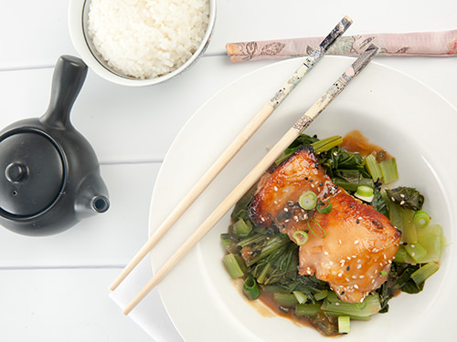 Quick and Healthy Miso Glazed Chicken