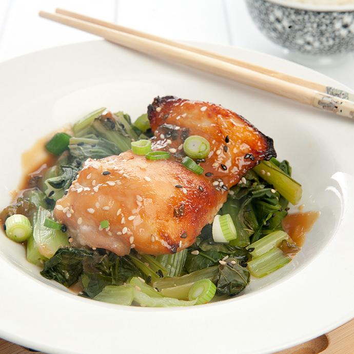 Miso Glazed Chicken - Quick & Healthy Dinner Recipe