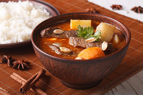Slow Cooked Massaman Curry
