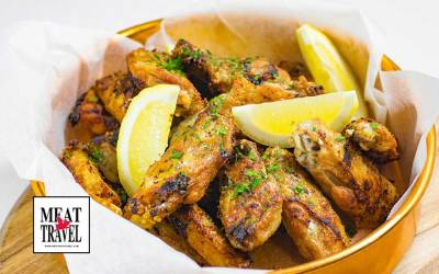 Garlic Chicken Wings – Easy Delicious Finger Food