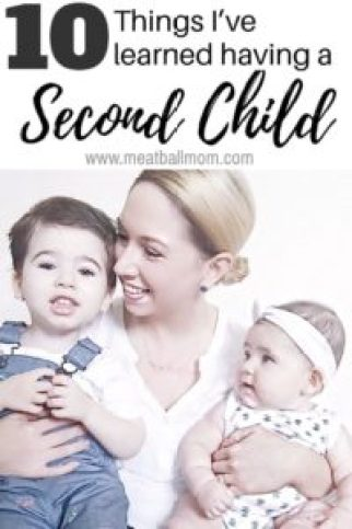 Having a second child? Or wondering what it's like? You may be going through so many emotions-- I know I was! How would life change? How could I love another child as much as the first? Check out what I learned this past year since adding a second child to our family. #momlife #pregnancy #newbaby #secondchild #babies #secondkid #motherhood