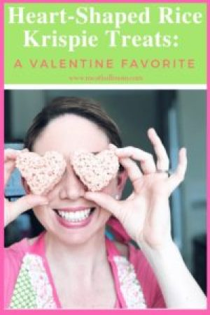 A Fun Valentine Dessert that is quick and simple to make. Making Valentine Heart-Shaped Rice Krispie treats is a fun and delicious activity for you and your toddler to do together. #dessert #easydessert #toddlerdessert #dessertidea #toddleractivities #nobake #dessertforkids #quickdessert #valentinedessert #valentinetreat #heartshaped #valentinesday #valentinerecipe #valentinesideasforkids #valentinedessertidea #riceKrispietreats