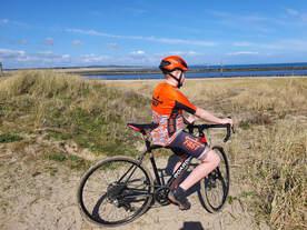 Biking in the dunes