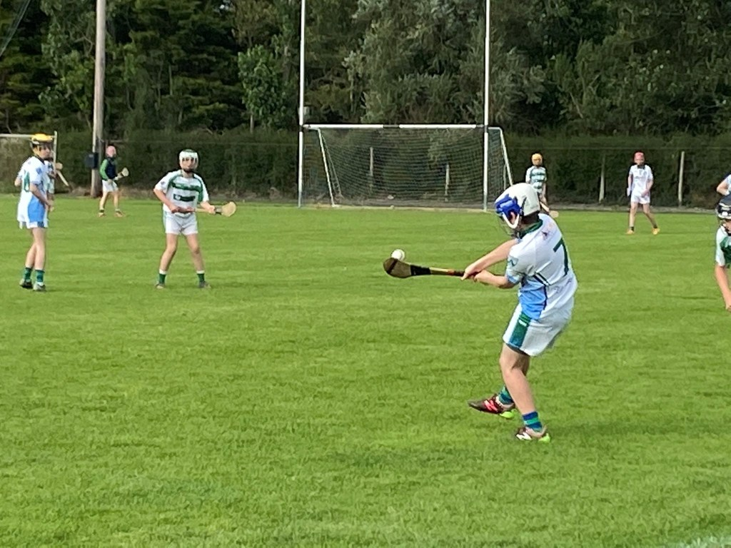 Saints Hurlers in action July 2020