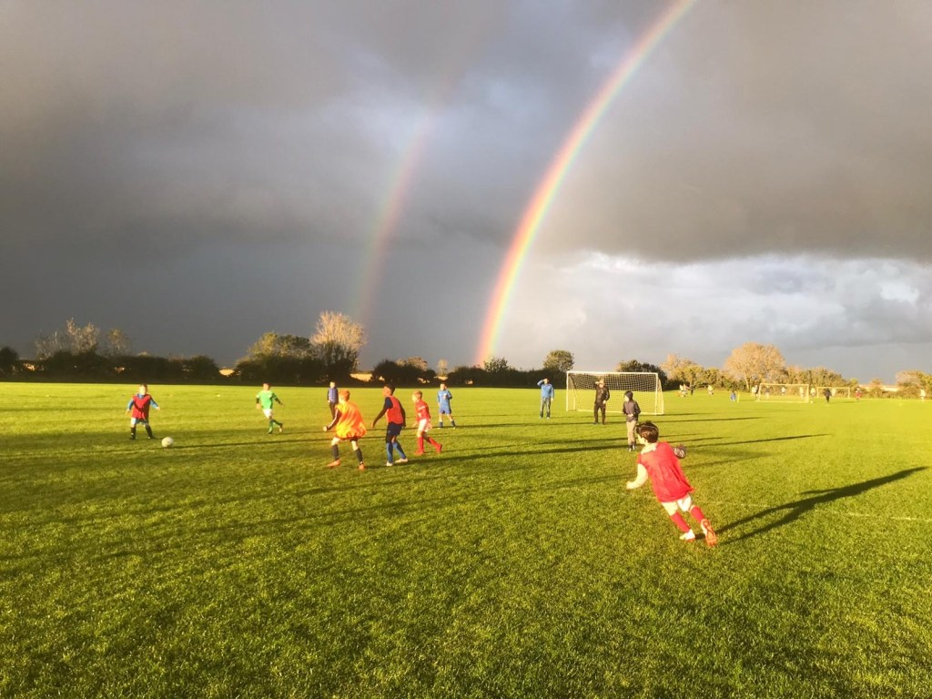 Rainbow over EMU training