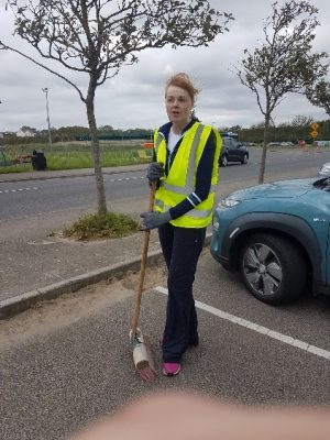 Laytown Tidy Towns Volunteer two