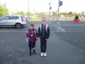 Donacarney Girls little sister 1 starting school one