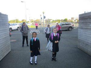Donacarney Girls starting back into school