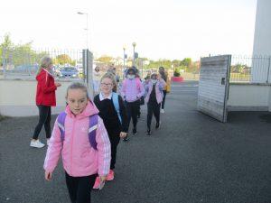 Donacarney Girls starting back one