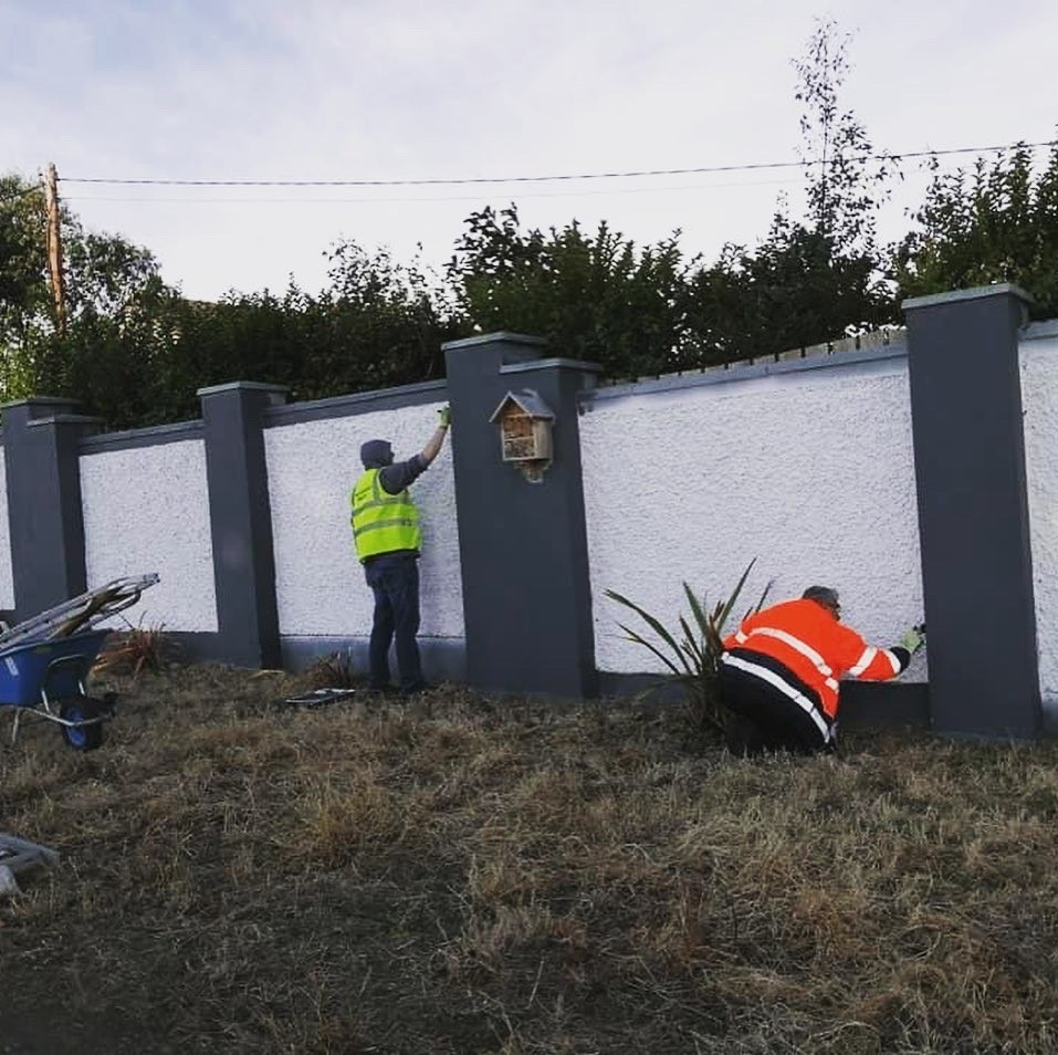 Bettystown tidy Towns wall painting