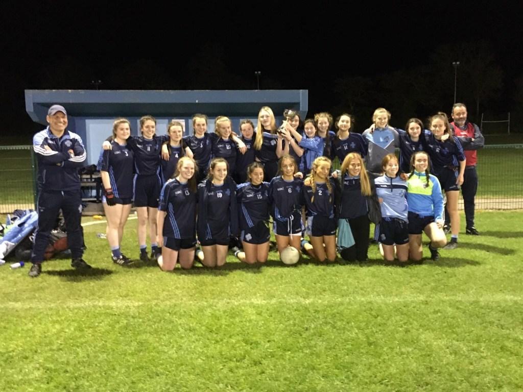 the U16 Division 3 girls team