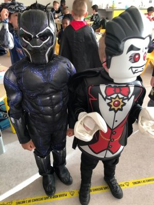 Donacarney Boys School halloween costumes