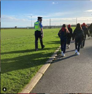 Loreto Balbriggan Gardai stepping out