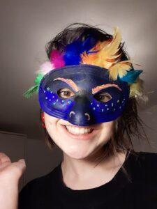 Hallowe'en mask making competition Loreto
