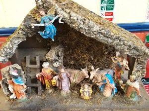 SSN Christmas manger 1