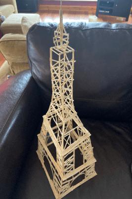 DGS Matchstick Eiffel Tower