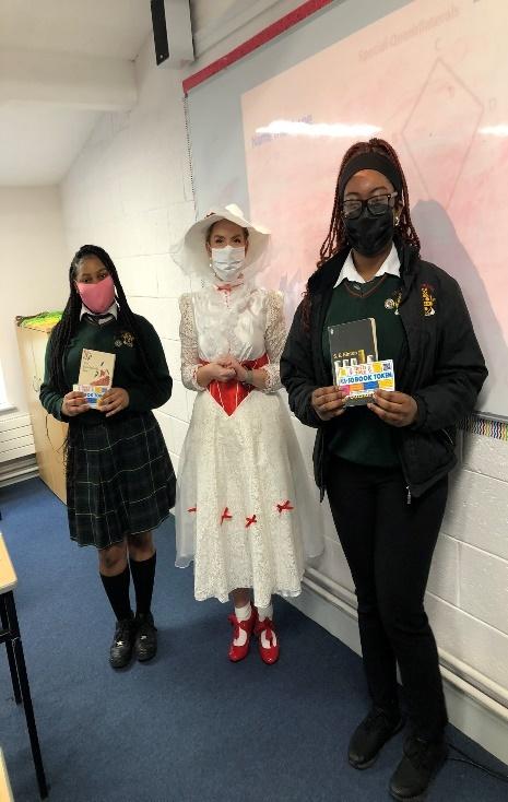 Drogheda Grammar world book Day costumes