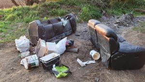 disgarded rubbish