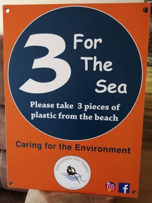 3 For the Sea plastic poster
