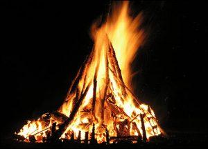 Bonfire La Bealtaine,
