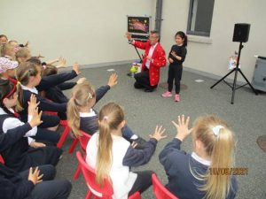 Magic lessons at Donacarney girls