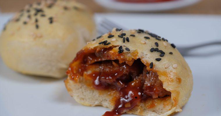 Chinese BBQ 'Pork' Buns