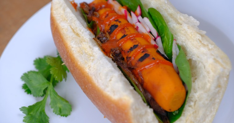 "Carrot ""Hot Dogs"""