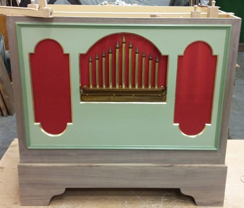 New Build Violin-Pan Organ In Preparation